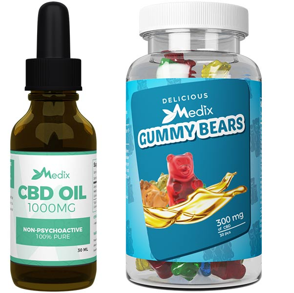 Medix CBD Oil Gummies